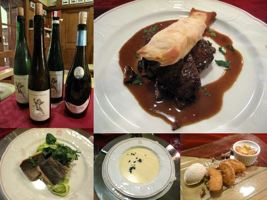 Wein in der Suppe und Bonbons zu Fleisch – erlaubt ist, was schmeckt. Fotos: K. Muysers/J. Klein